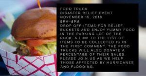 "Food Truck ""Disaster Relief"" Event @ Rock building parking lot | Manassas | Virginia | United States"